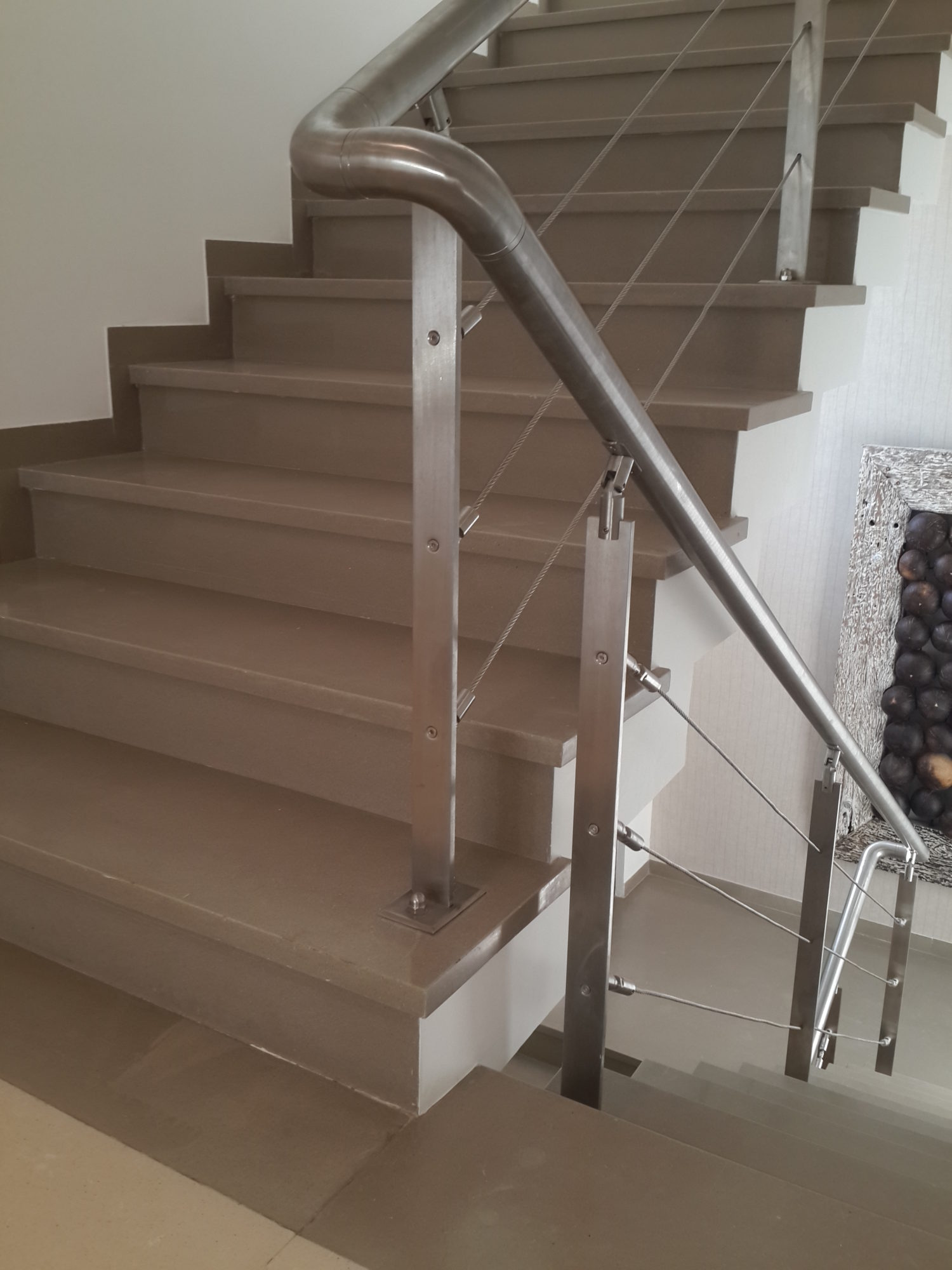 Balcony Railing M S Amp S S Peb Structure In Ahmedabad