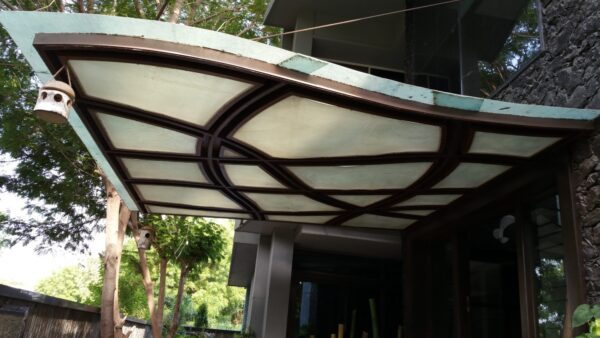 Building Elevation Canopy - PEB Structure in Ahmedabad, PEB