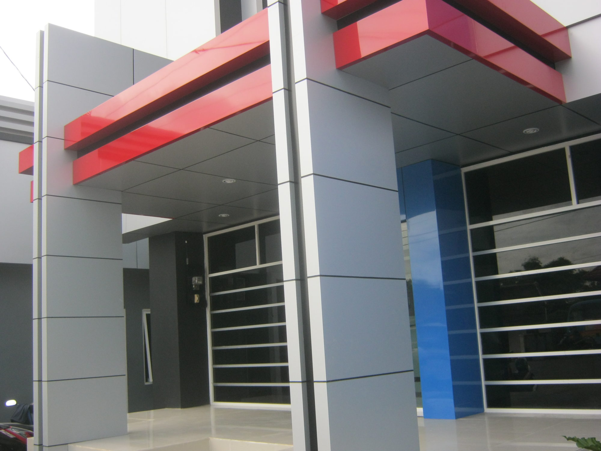 Acp Elevation Peb Structure In Ahmedabad Peb Structure