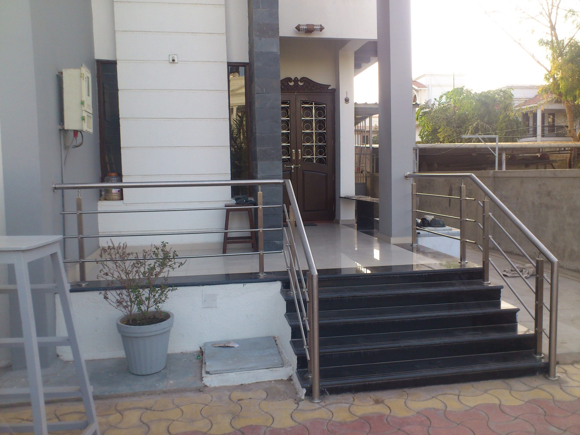 Balcony Railing M.S. & S.S - PEB Structure in Ahmedabad ...