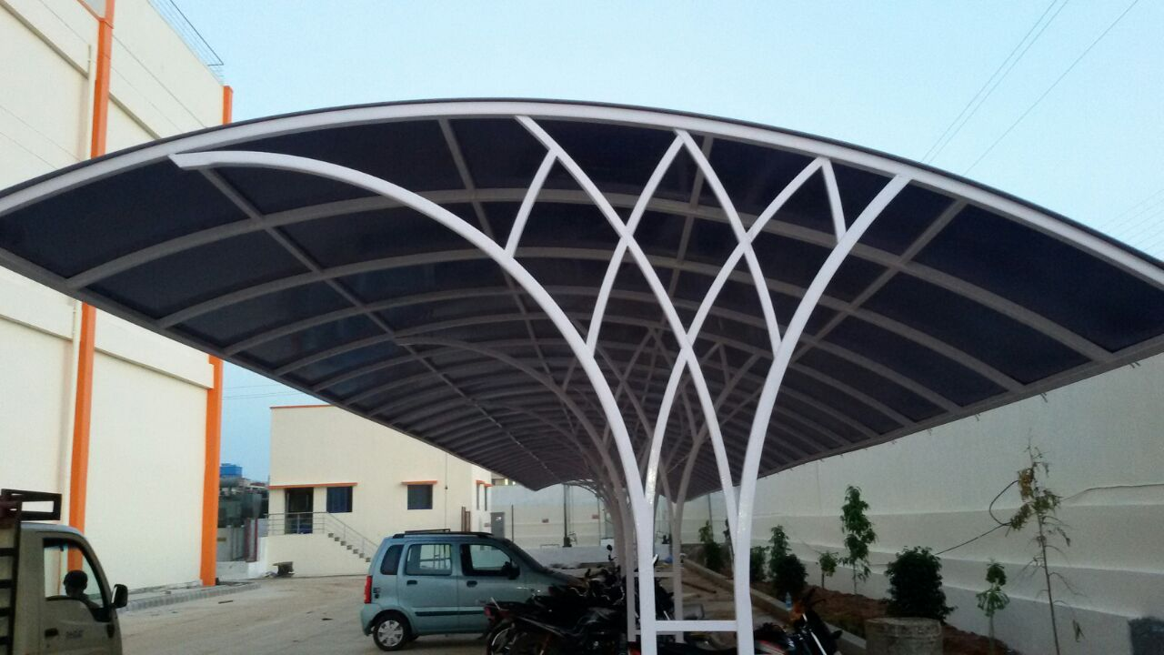 Industrial Parking Shed - PEB Structure in Ahmedabad, PEB ...