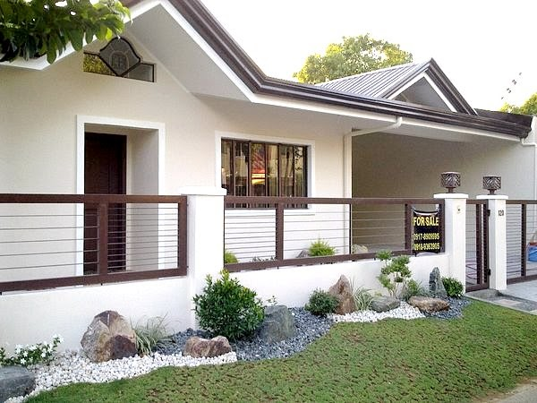 None - 41+ Simple Small House Compound Wall Design Pictures