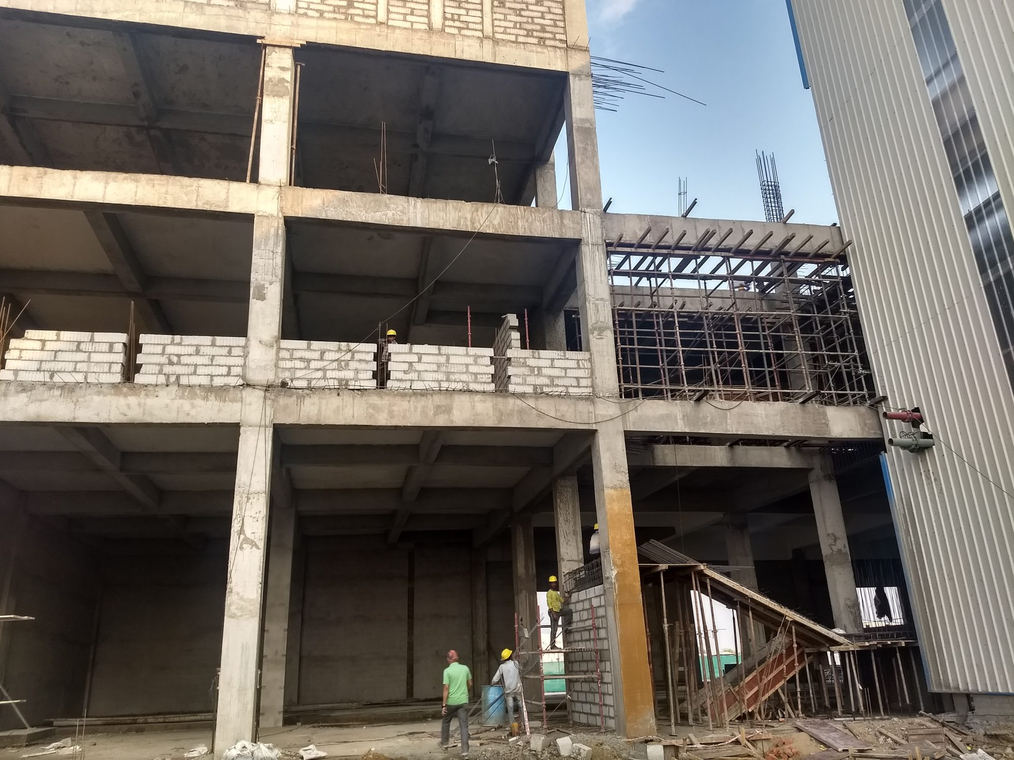 Office Building Peb Structure In Ahmedabad Peb